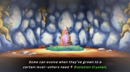 Evolution Crystals are required to evolve Pokemon
