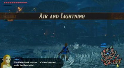 Air And Lightning - Level & Characters
