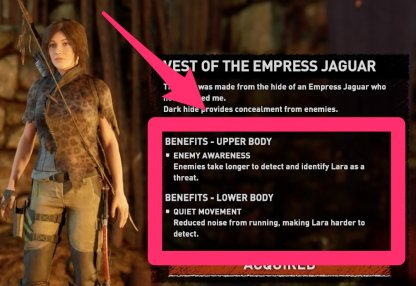Tomb Raider | All Outfit List & Effects | Shadow of the Tomb