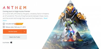 Origin Access (Basic) / (Premier)