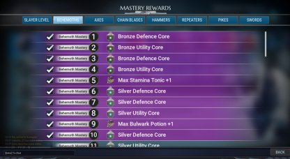 Complete Mastery Objectives