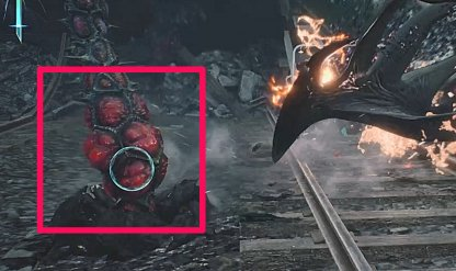 Devil May Cry 5 Lock On To Base Of Tentacles