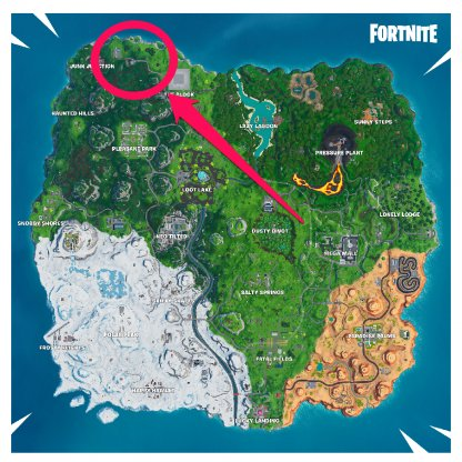 Grasslands Race Track Map Location
