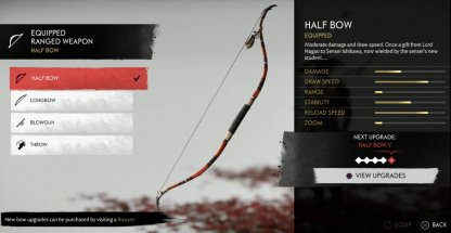 Half Bow