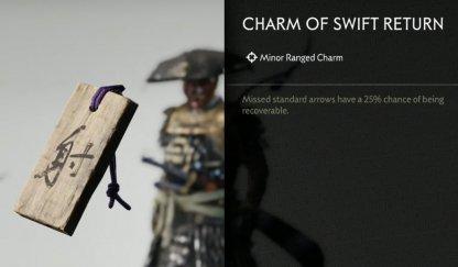 Receive Charm Of Swift Return