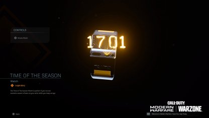 Time Of The Season (Legendary)