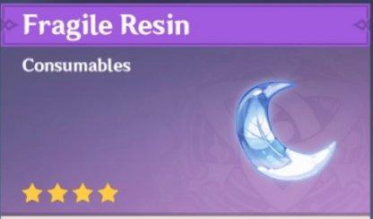 Fragile Resin