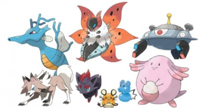 New Pokemon List