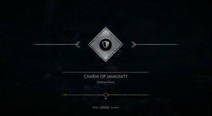 Receive Charm of Immunity
