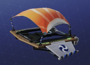 Glider skin Image FLYING FISH