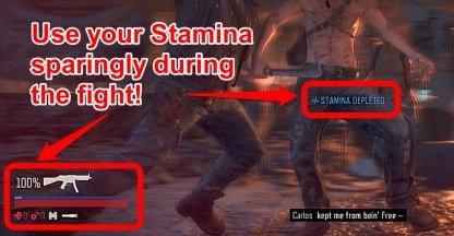 Dodging Consumes Stamina