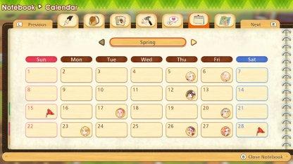 Spring Calendar Events