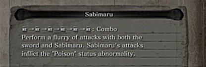 How To Use Sabimaru