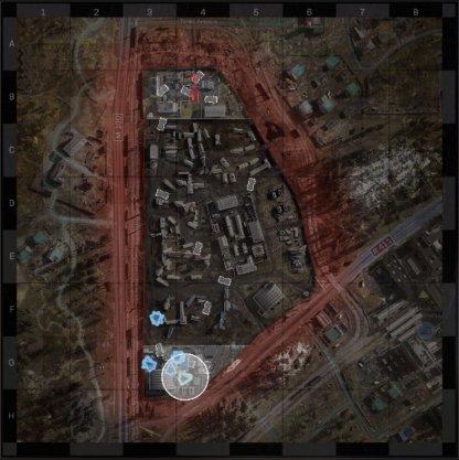 Zhokov Boneyard Map Layout