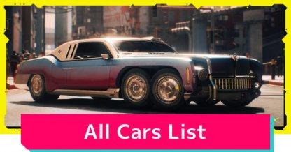 Cars List