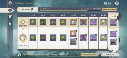Battlepass Missions Unlocks At Adventure Rank 20