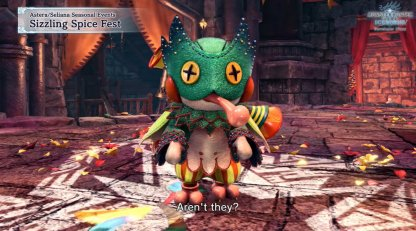 Forge Pukei-Pukei Costume For Palico