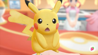 Pikachu Unruly Hair