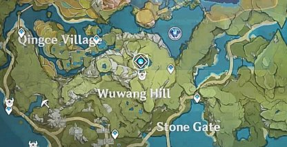 Hidden Palace Of Zhou Formula - Location