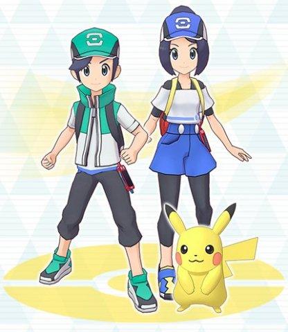 Main Character & Pikachu