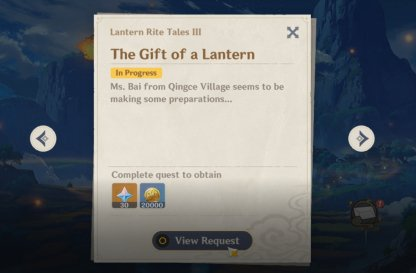 The Gift of a Lantern