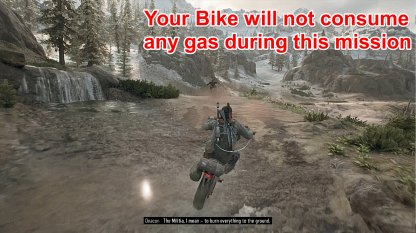 Bike Does Not Consume Gas