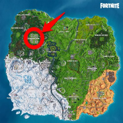 Snowflake Decoration Locations Pleasant Park