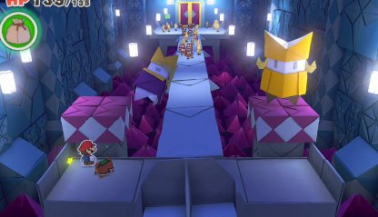 Use King Olly Statue to Flip Platform