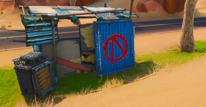 Vault Symbol Locations Shack Near Dinosaurs Close Up