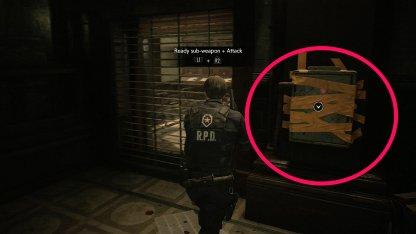 Resident Evil 2 Demo Taped Up Box