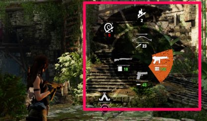 Shadow of the Tomb Raider Swap Weapons
