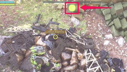 Anthem Salvage Piles Can Be Located With Compass