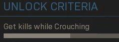 Get Kills While Crouching