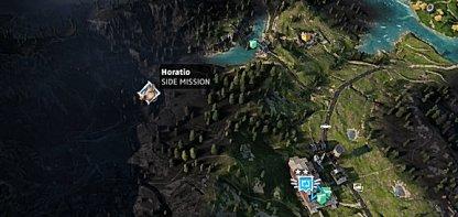 Horatio's Location