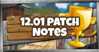 12.01 Patch Update