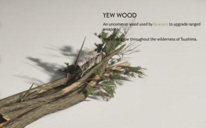 Pick Yew Wood On Open World