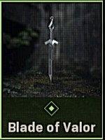Blade of Valor Charm
