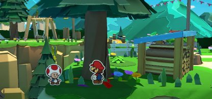 Rescue Toads Trapped as Origami
