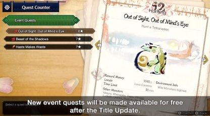 2.0 Update Event Q