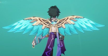 Wings of Azure Wind