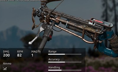 Far Cry New Dawn Saw Launcher V.0