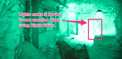 Night Vision Double Edged Sword