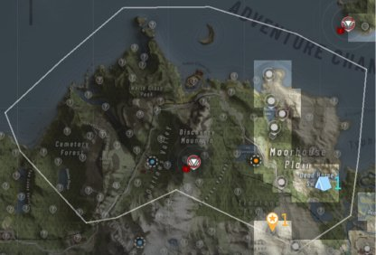 Intel & Bivouac Locations - Smuggler Coves