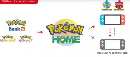 Pokemon Home App May Be Required