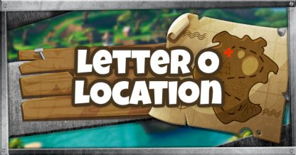 O Letter Location