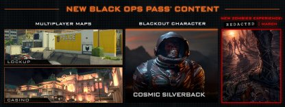 New Content For Black Ops Pass Holders