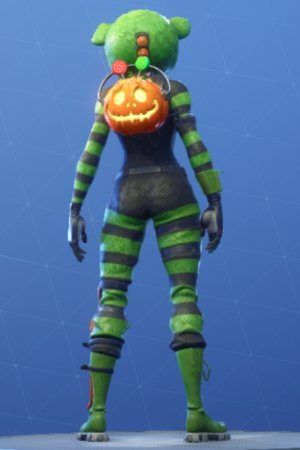SPOOKY TEAM LEADER Back