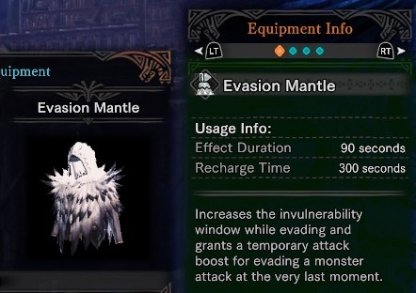 Evasion Mantle