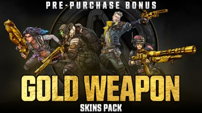 Gold Weapon Skins Pack