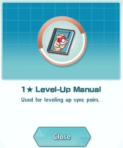 Pokemon Masters Training Manual